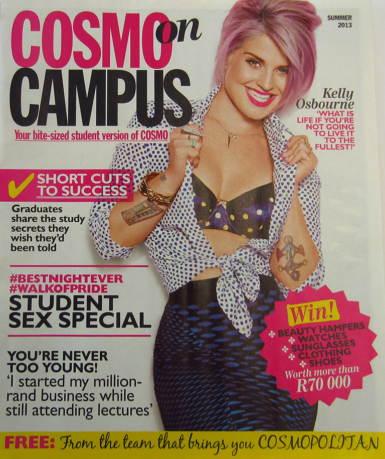 Cosmo on Campus issue